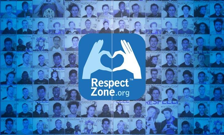Le logo de Respect Zone