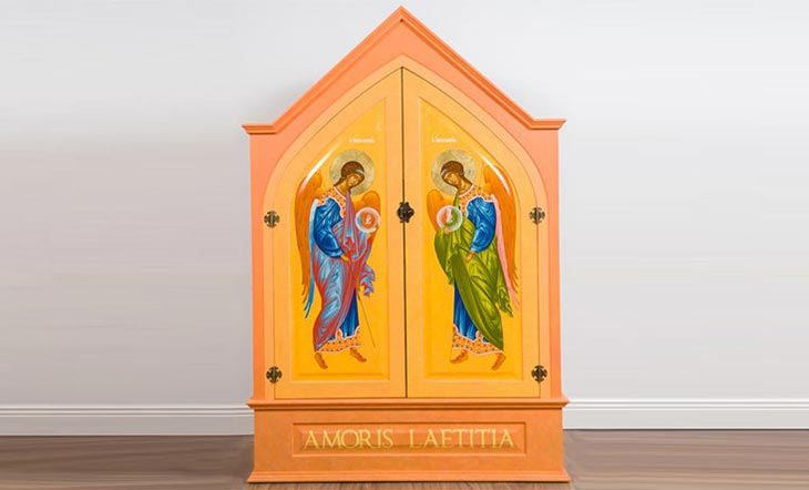 L'icône de la Sainte Famille