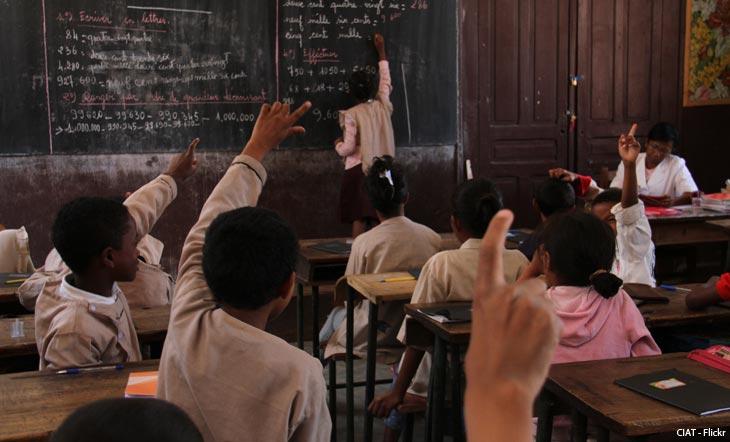En Afrique, les jeunes veulent apprendre et travailler !