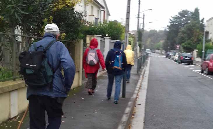 Prier – marcher à Toulouse le vendredi 7 février