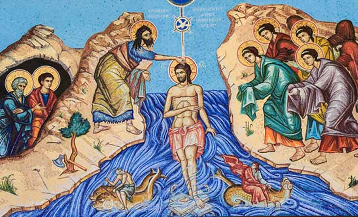 Prière universelle – Baptême du Seigneur -13 janvier 2019