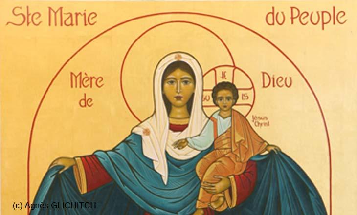 Prière de confiance à Marie