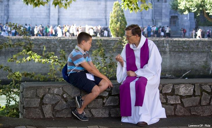 Le sacrement de réconciliation : la joie d'être accueilli