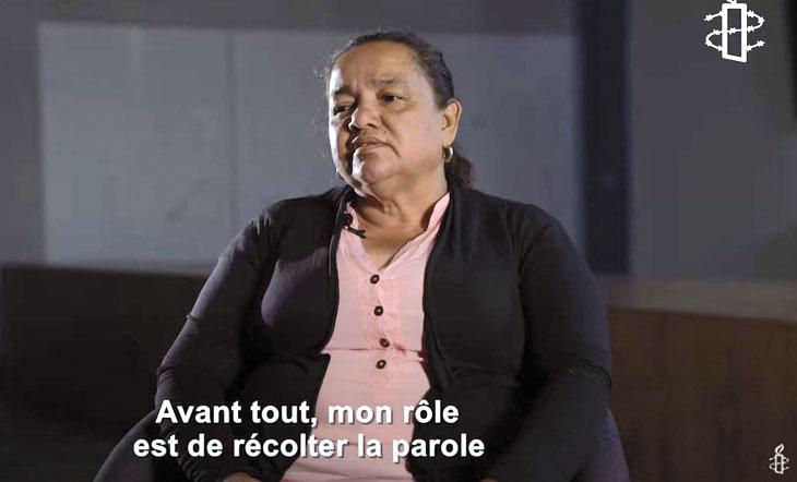 Jani lutte pour défendre les droits de sa communauté