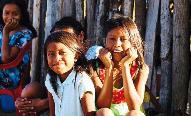 enfants colombiens