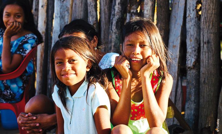 Délia, en mission pour maintenir la paix et protéger les leaders sociaux